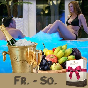 Wellness-Tage für Paare von Fr. bis So.