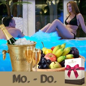 Wellness-Tage für Paare von Mo. bis Do.